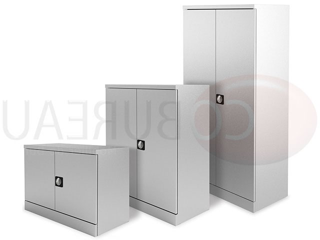 armoire haute m tallique 200 x 120 portes battantes. Black Bedroom Furniture Sets. Home Design Ideas