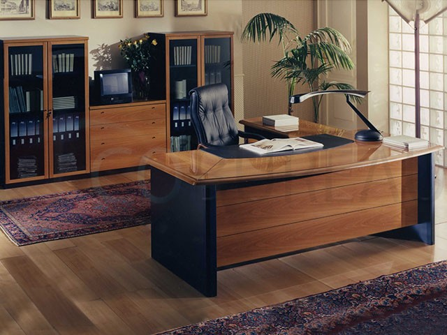 bureau direction lorca plateau rectangulaire. Black Bedroom Furniture Sets. Home Design Ideas