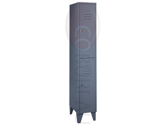 Souvent Vestiaire métallique 2 portes NU31