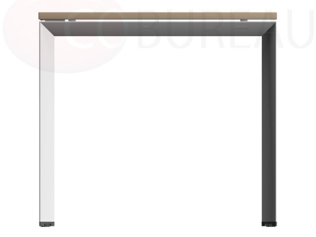 Ensemble Bureau Direction Rectangulaire Pietement Metallique Arche Arko