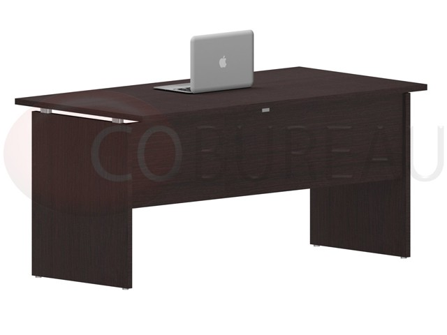 bureau plateau droit kamos 160 cm newform ufficio. Black Bedroom Furniture Sets. Home Design Ideas