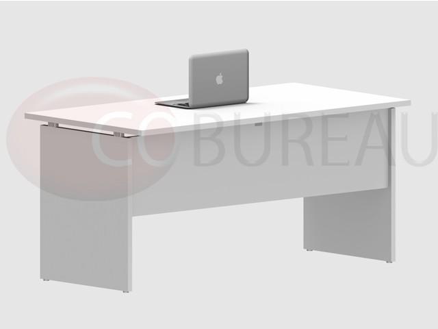 Bureau kamos avec plateau droit cm newform ufficio