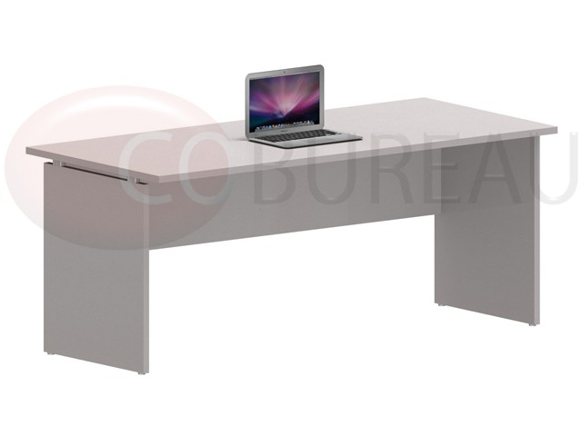 bureau kamos avec plateau droit 180 cm newform ufficio. Black Bedroom Furniture Sets. Home Design Ideas
