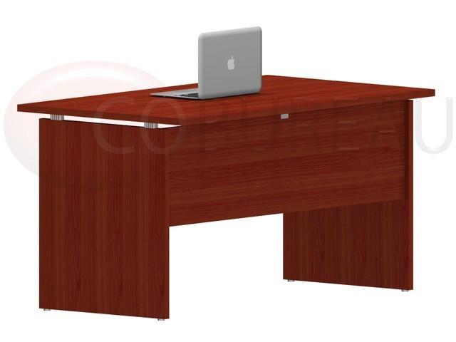 bureau kamos 100 cm de chez newform paisseur 25 mm. Black Bedroom Furniture Sets. Home Design Ideas
