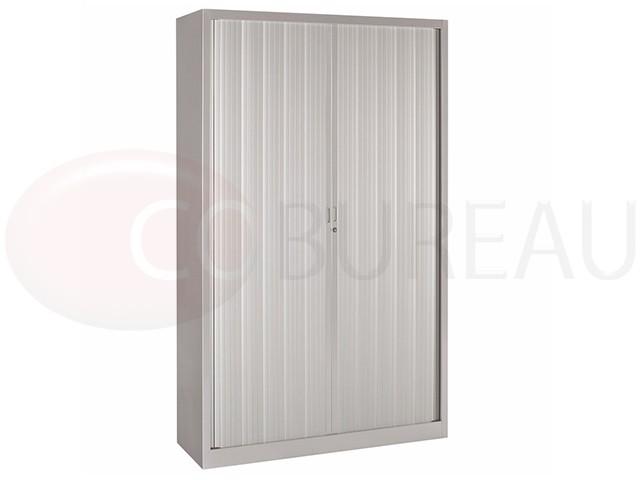Armoire a rideaux l 120 x h 200 cm corps aluminium - Armoire penderie hauteur 120 cm ...