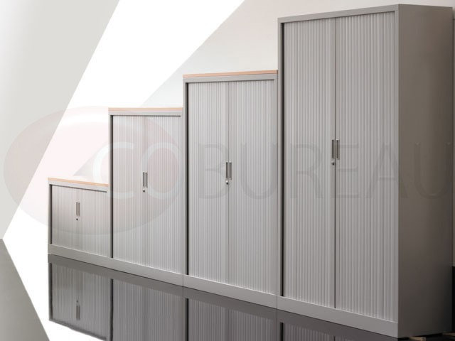 armoire a rideaux l 120 x h 200 cm corps aluminium rideaux aluminium. Black Bedroom Furniture Sets. Home Design Ideas