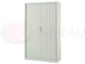 Armoire à rideaux hauteur 200 cm Blanc