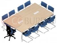 Table Arko 240 cm - pieds arche
