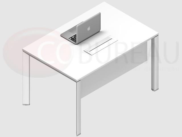 bureau arko 100 cm pieds arche m tal. Black Bedroom Furniture Sets. Home Design Ideas