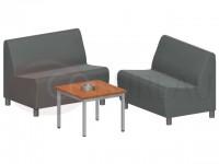 Table basse carrée - Métal 60x60 cm