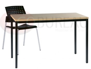 Table décharge Métal 140 x 80 cm Multi-usages