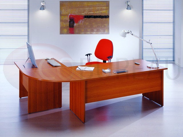 bureau cadre informatique pieds panneaux kamos. Black Bedroom Furniture Sets. Home Design Ideas