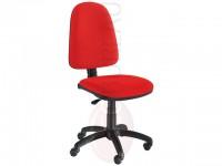 Siège de bureau Flex - Tissu rouge