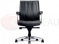Fauteuil direction Boss cuir