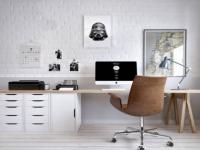 L'essentiel pour un petit bureau même dans un petit espace.