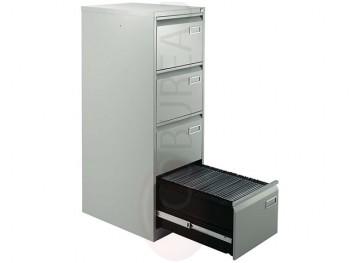 Classeur format commercial Metal 4 tiroirs